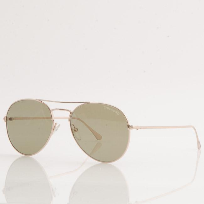 Tom Ford Ace-02 Aviator Sunglasses ACCESSORIES Tom Ford 55-17-145 Yellow
