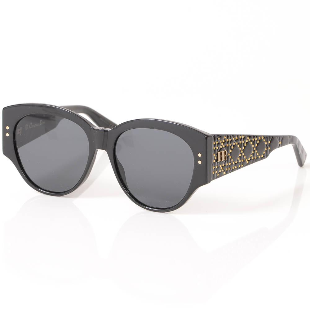 Christian Dior LadyDiorStuds2 Gradient Cat Eye Frame Sunglasses ACCESSORIES Christian Dior 55-16-140 Black