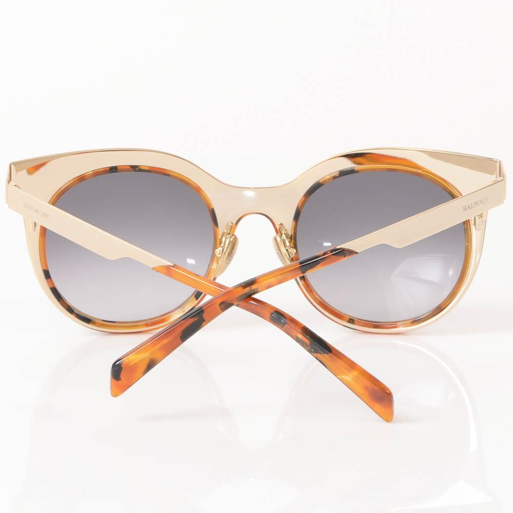 Balmain Glitter Tortoise Cat Eye Frame Sunglasses ACCESSORIES Balmain