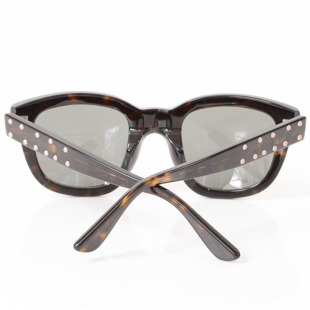 Saint Laurent Lou Studded Cat Eye Frame Sunglasses ACCESSORIES Saint Laurent