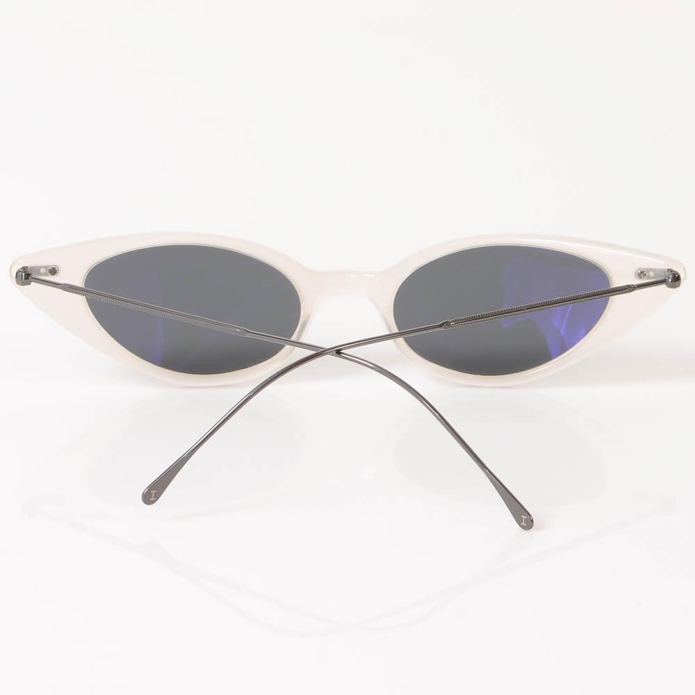 Illesteva Marianne Slim Cat Eye Frame Sunglasses ACCESSORIES Illesteva