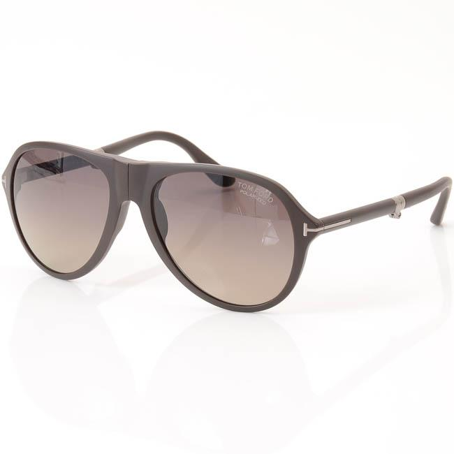Tom Ford Dalton Polarized Foldable Gradient Aviator Sunglasses ACCESSORIES Tom Ford 59-18-145 Brown