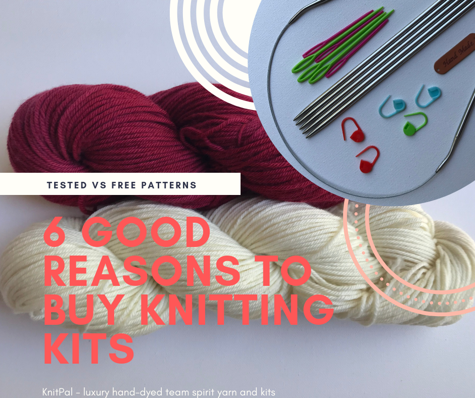 6 Great Reasons to Buy KnitPal Team Spirit Knitting Kits