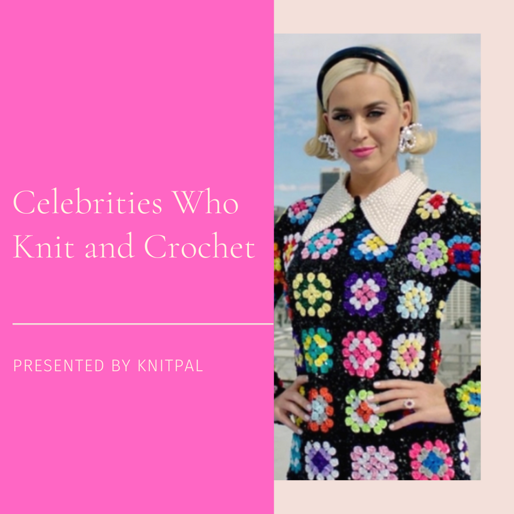 Celebrities Who Knit and Crochet