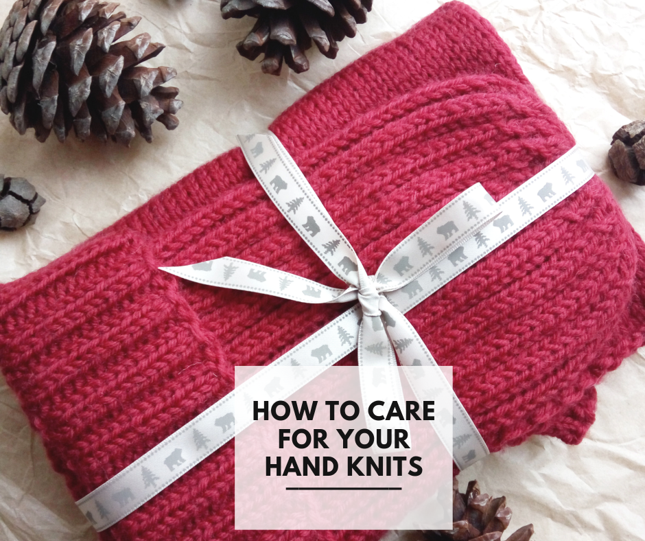 How to Care for Your Hand Knits