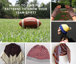 Where to Find Free Patterns to Show Your Team Spirt?