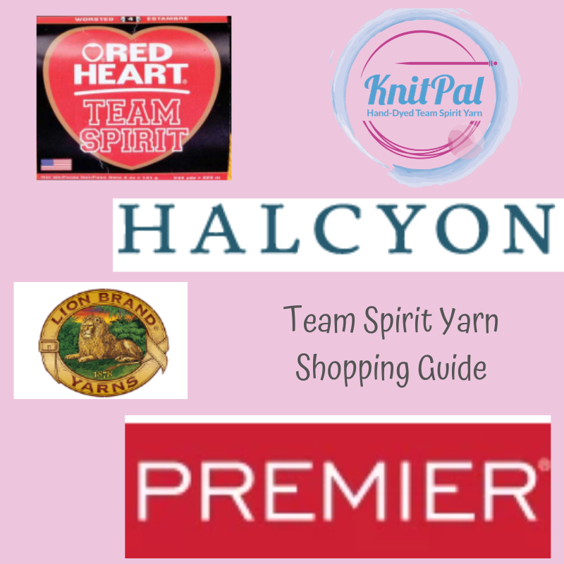 Your Team Spirit Yarn Shopping Guide