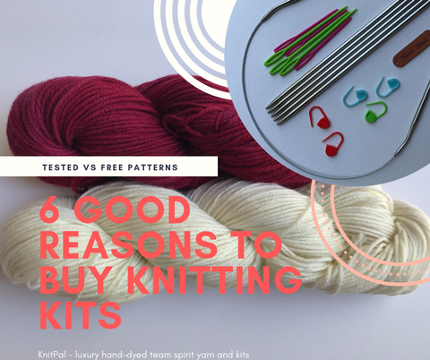 6 good reasons to buy knitting kits