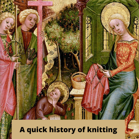 A quick history of knitting