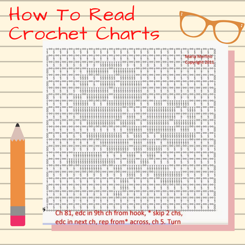 how to reach crochet patterns
