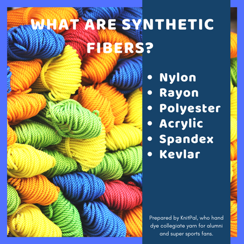 what are synthetic yarn?