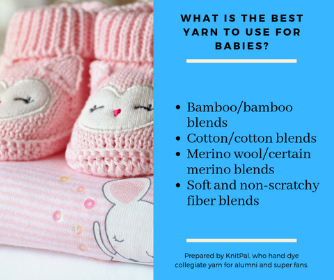 What are the best yarn to use for babies?