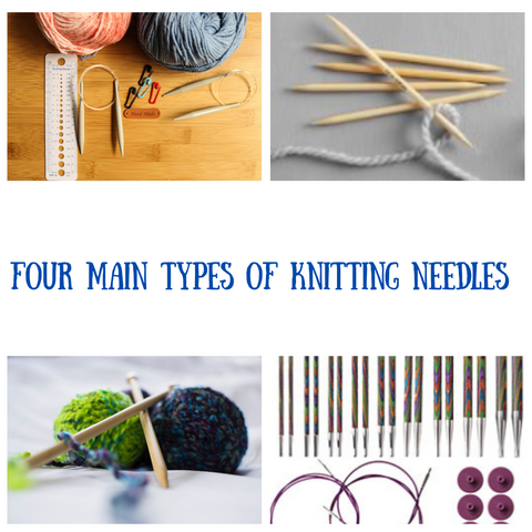 the four types of knitting needles