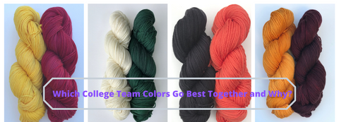 Which College Team Colors Go Best Together and Why?
