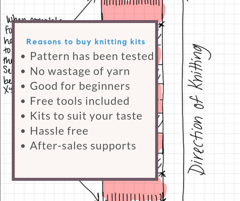 reasons to buy knitting kits