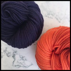 Baker_university yarn color