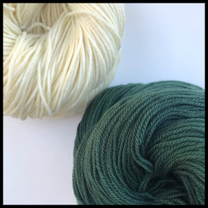 michigan state green and white color yarn college team colors
