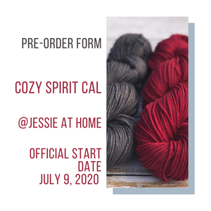 Preorder Form - Cozy Spirit CAL at Jessie at home