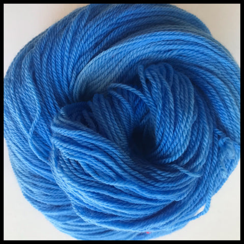 Boyish blue UCLA PMS 299 -Team spirit college school color yarn