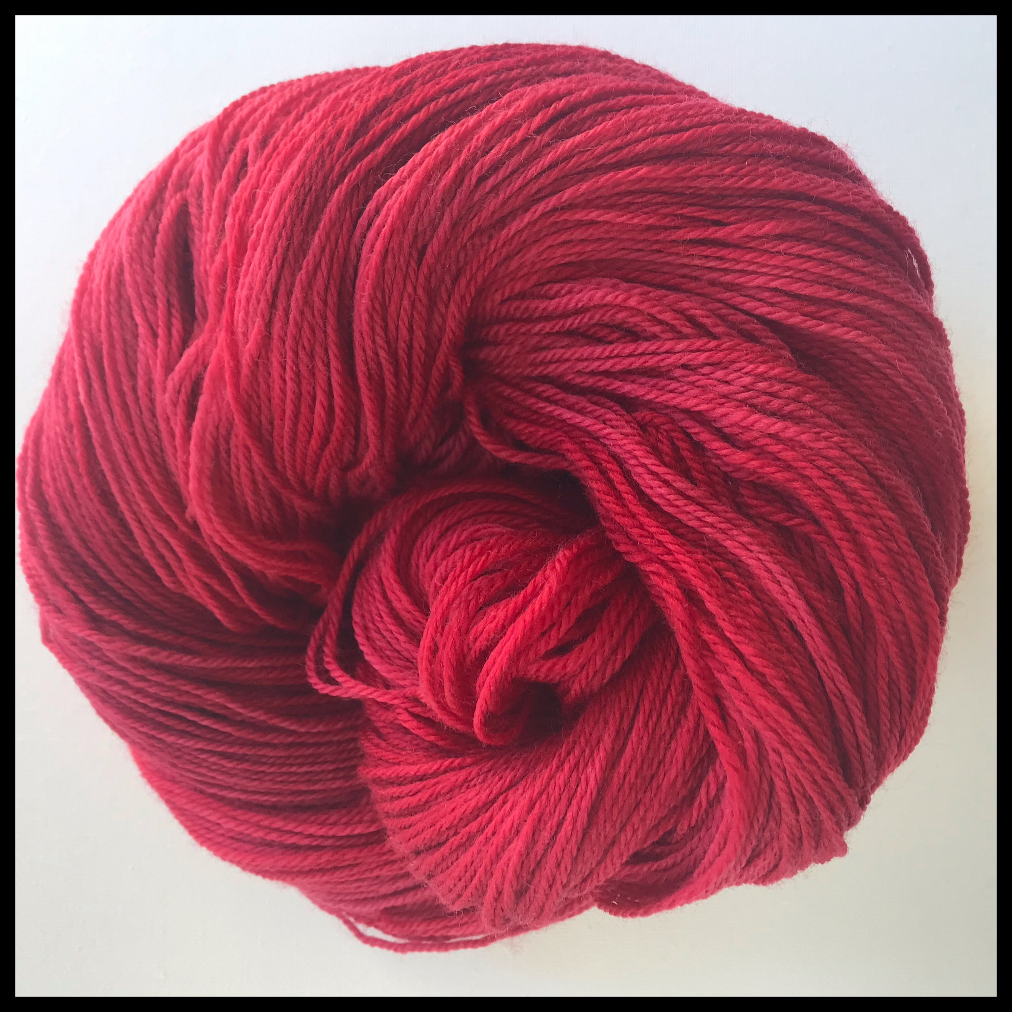 Team spirit college school color yarn Crimson Red  USC Cardinal Red
