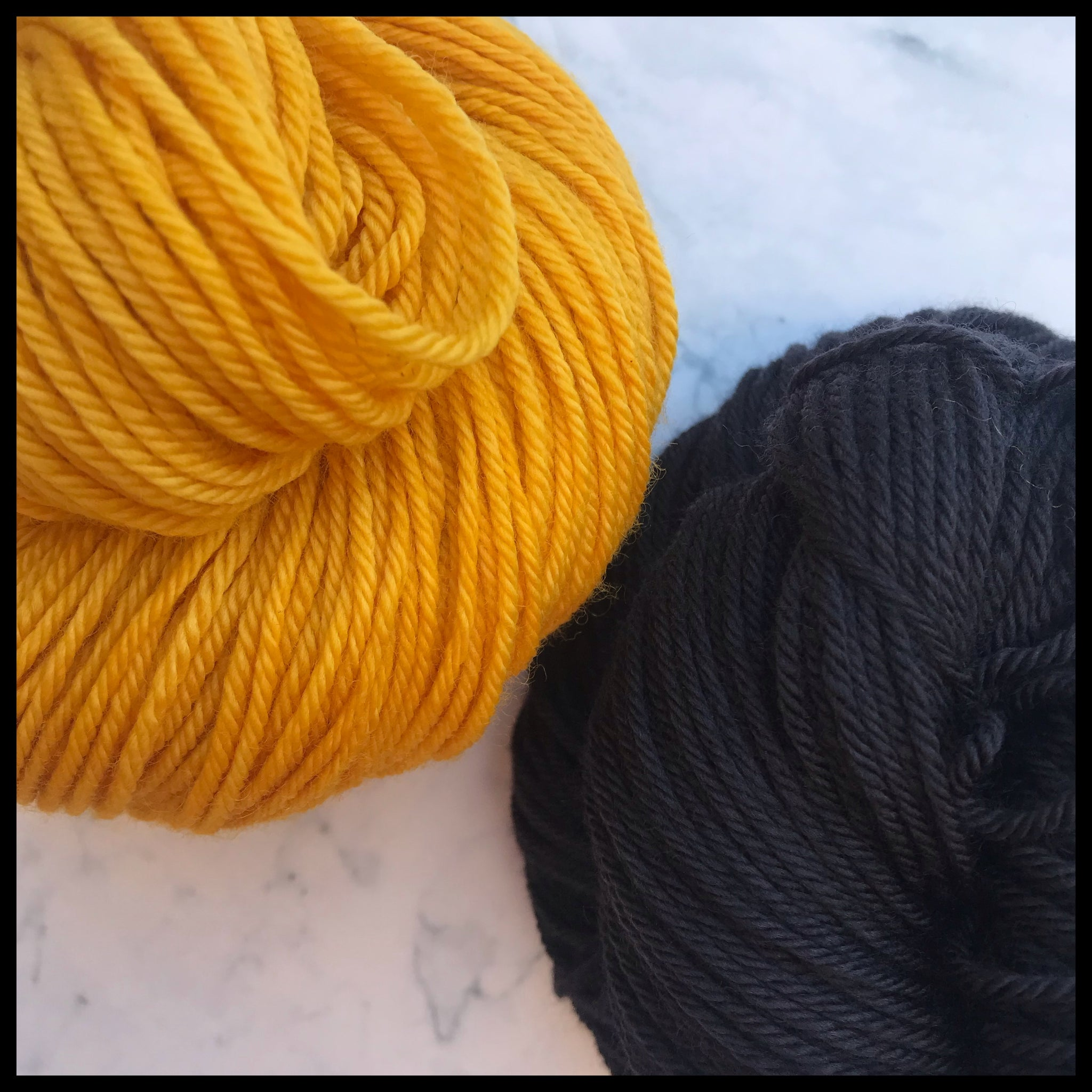 University of Central Florida black and gold UCF college-themed team spirit yarn