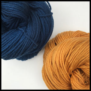 UC san diego blue and gold color yarn