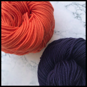 UTEP univeristy of texas el paso colored yarn