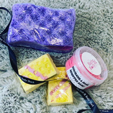 SHOWER PAMPER BOX WRAPPED GIFT SET