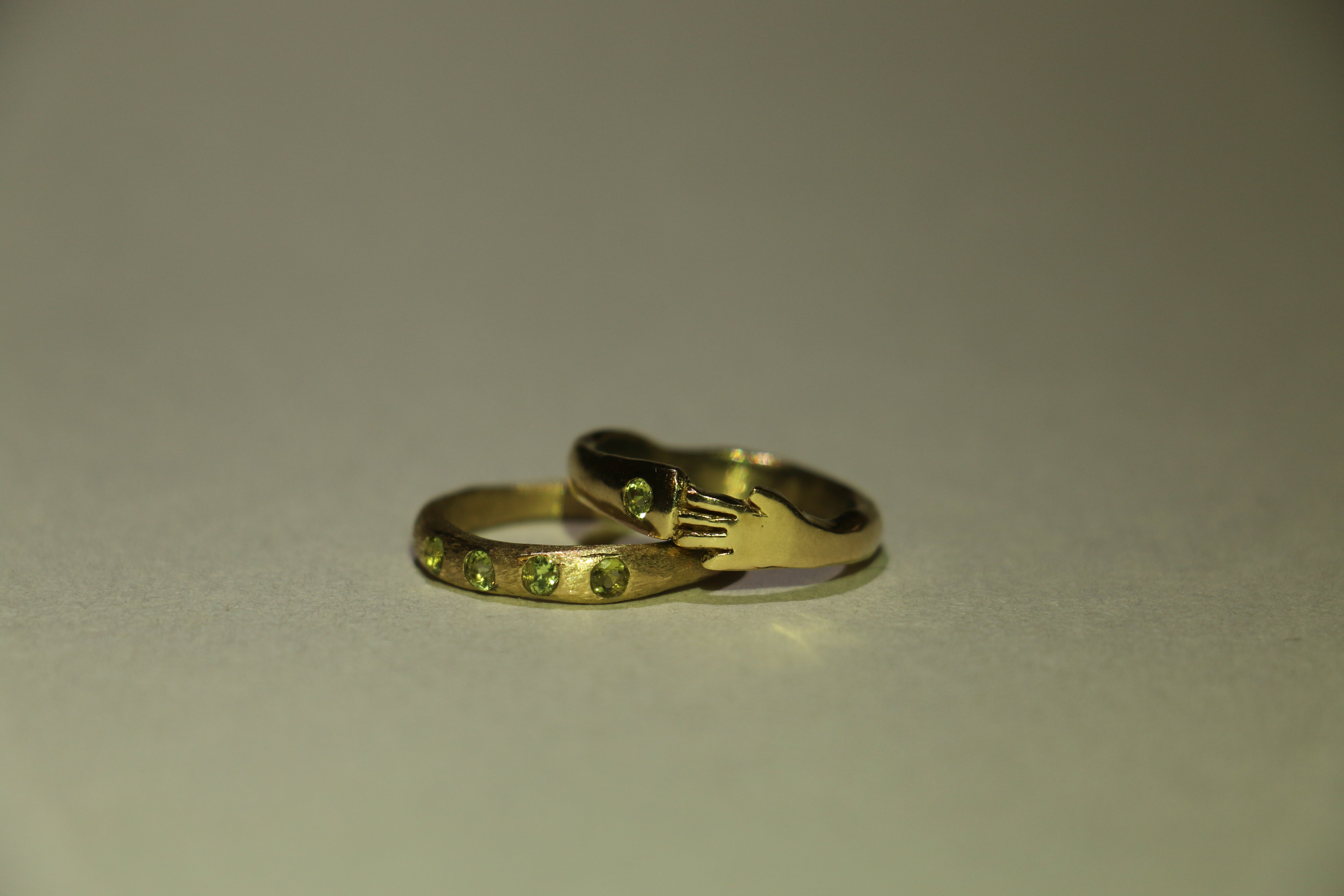 Makers Ring - Gold/Custom Gem