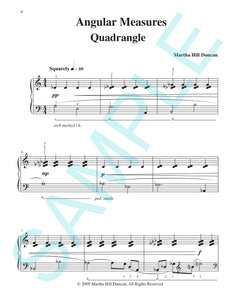 QUADRANGLE - Piano Solo from ANGULAR MEASURES
