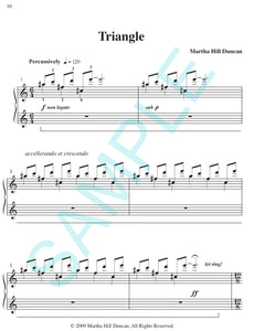TRIANGLE - Piano Solo from ANGULAR MEASURES