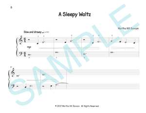 A SLEEPY WALTZ - Piano Solo from THE LION'S TALE