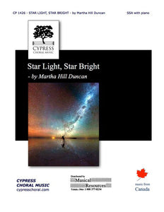 STAR LIGHT, STAR BRIGHT FOR SSA AND PIANO
