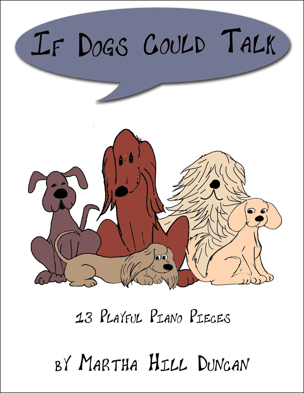 PARTY PLANS - Piano Solo from IF DOGS COULD TALK