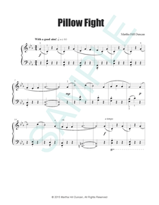 PILLOW FIGHT - Piano Solo from RAINY DAY