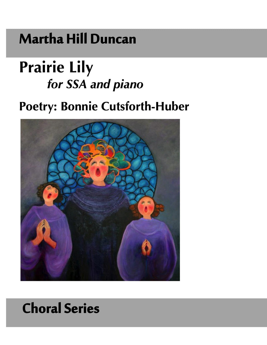 Cover image for Prairie Lily SSA