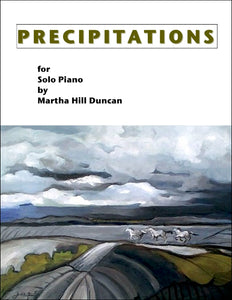 PRECIPITATIONS - Solo Piano Collection