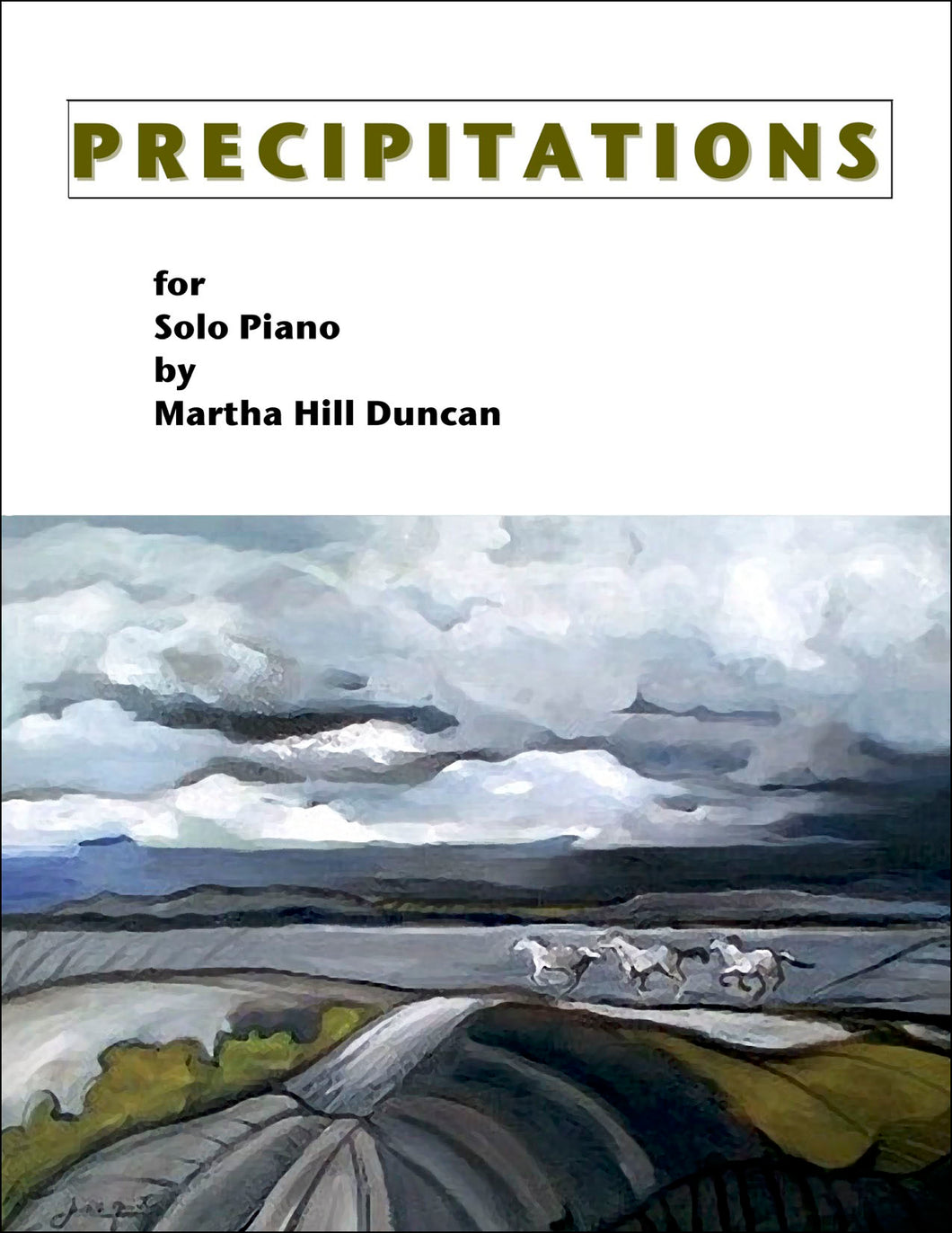 RACING THE STORM - Piano Solo from PRECIPITATIONS