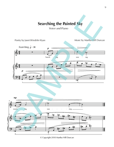 SEARCHING THE PAINTED SKY - Medium/High Voice & Piano from SEARCHING THE PAINTED SKY
