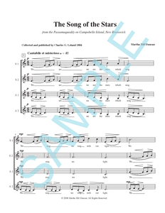 SONG OF THE STARS FOR SSAA