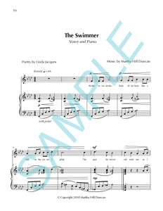 THE SWIMMER - Medium/High Voice & Piano from SUMMER