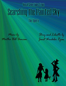 Cover Image for Searching the Painted Sky, The Opera