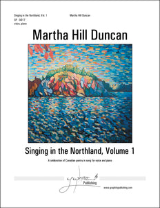 THE BROOK IN FEBRUARY - Medium/High Voice & Piano from SINGING IN THE NORTHLAND, VOL. 1