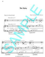 THE DAISY - Medium/High Voice & Piano for FLORALS