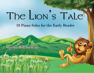 TREASURE HUNT -  Piano Solo from THE LION'S TALE
