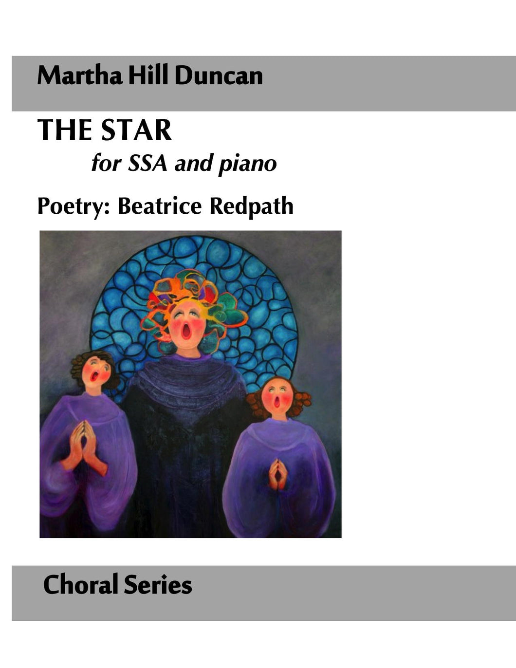 THE STAR FOR SSA AND PIANO