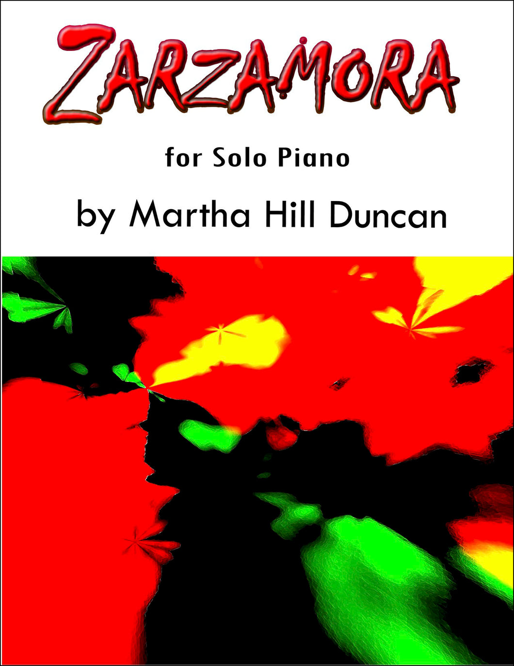 ZARZAMORA SUITE - Solo Piano Collection
