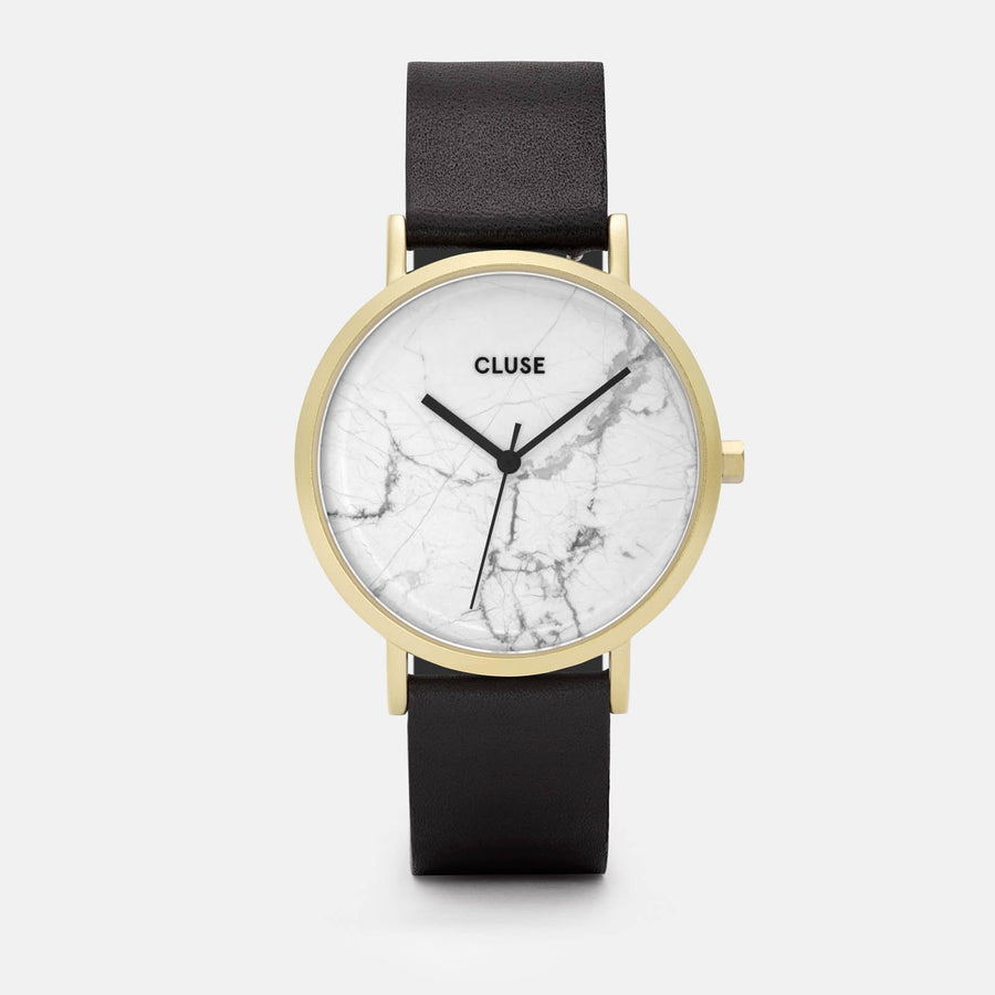 CLUSE La Roche Gold White Marble/Black CL40003 - watch