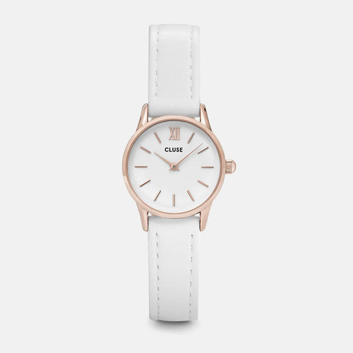 Image: CLUSE La Vedette Rose Gold White/White CL50030 - watch
