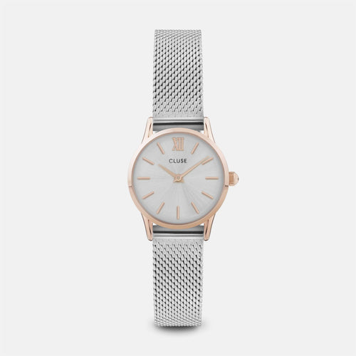 Image: CLUSE La Vedette Mesh Rose Gold/Silver CL50024 - watch